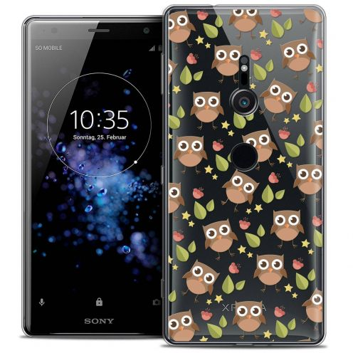"Extra Slim Crystal Gel Sony Xperia XZ2 (5.7"") Case Summer Hibou"