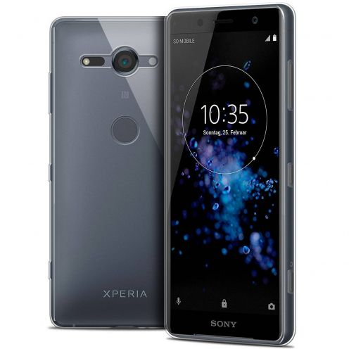 "Coque Sony Xperia XZ2 Compact (5.0"") Extra Fine Souple Crystal Clear"