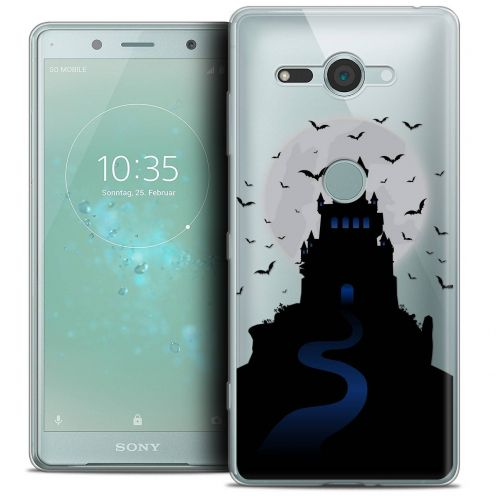 "Coque Crystal Gel Sony Xperia XZ2 Compact (5.0"") Extra Fine Halloween - Castle Nightmare"