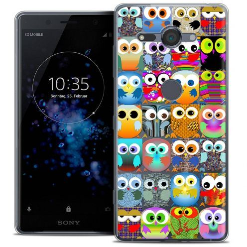 "Coque Crystal Gel Sony Xperia XZ2 Compact (5.0"") Extra Fine Claude - Hibous"