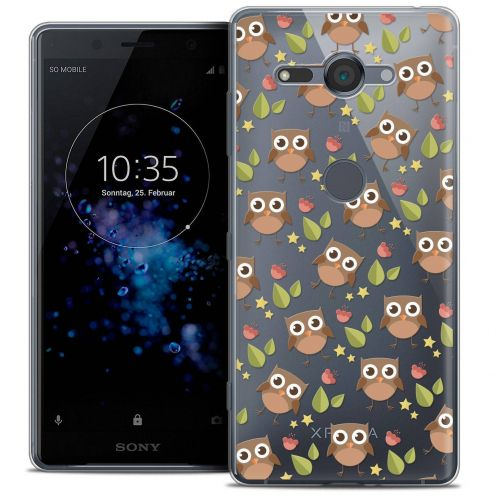 "Coque Crystal Gel Sony Xperia XZ2 Compact (5.0"") Extra Fine Summer - Hibou"