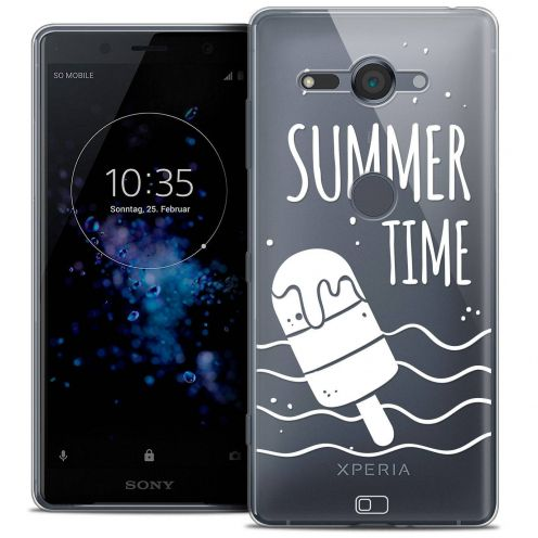 "Extra Slim Crystal Gel Sony Xperia XZ2 Compact (5.0"") Case Summer Summer Time"