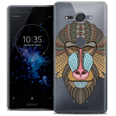 "Coque Crystal Gel Sony Xperia XZ2 Compact (5.0"") Extra Fine Summer - Babouin"
