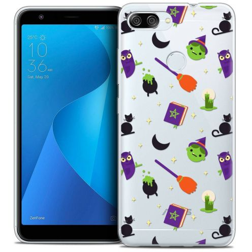 """Coque Crystal Gel Asus Zenfone Max Plus (M1) ZB570TL (5.7"""") Extra Fine Halloween - Witch Potter"""