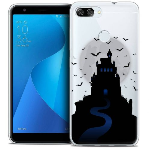 "Extra Slim Crystal Gel Asus Zenfone Max Plus (M1) ZB570TL (5.7"") Case Halloween Castle Nightmare"
