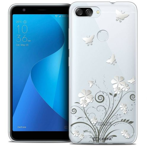 """Coque Crystal Gel Asus Zenfone Max Plus (M1) ZB570TL (5.7"""") Extra Fine Summer - Papillons"""