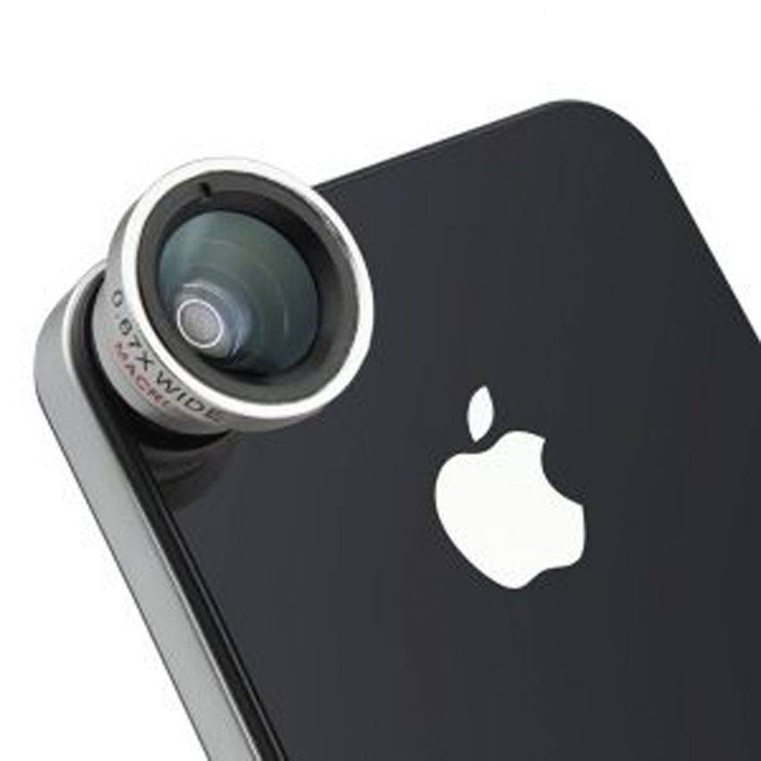 Macro + wide-angle lens Photo / Video iPhone 5 / iPhone 4 / 4s / 3G