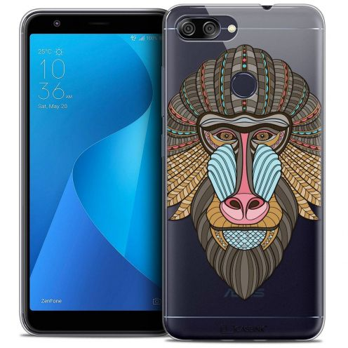 """Coque Crystal Gel Asus Zenfone Max Plus (M1) ZB570TL (5.7"""") Extra Fine Summer - Babouin"""
