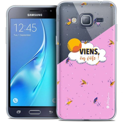Coque Samsung Galaxy J3 2016 (J320) Extra Fine Petits Grains® - VIENS, On Vole !