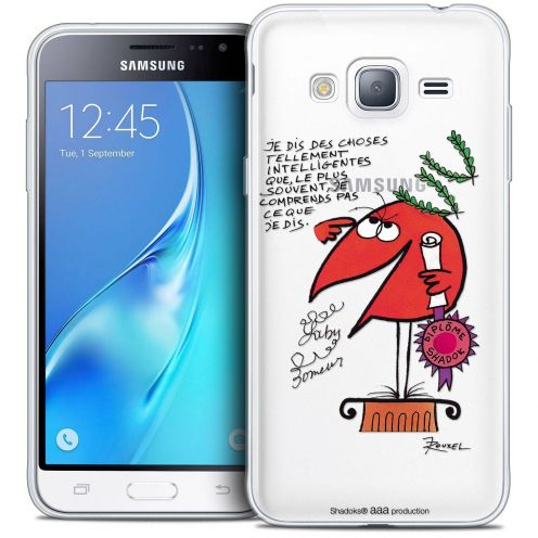 Extra Slim Crystal Samsung Galaxy J3 2016 (J320) Case Les Shadoks® Intelligent