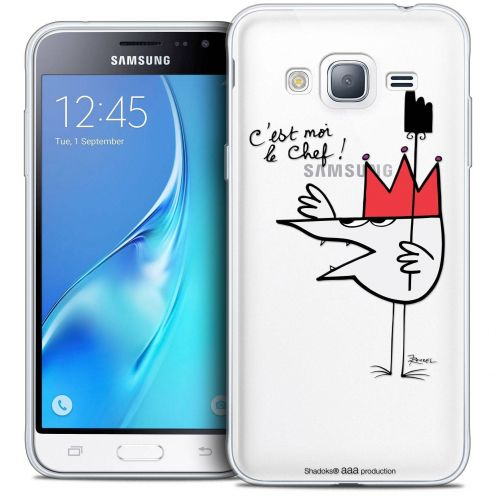 Coque Samsung Galaxy J3 2016 (J320) Extra Fine Les Shadoks® - Le Chef