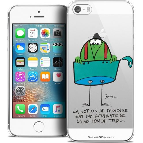 Extra Slim Crystal iPhone 5/5s/SE Case Les Shadoks® La Passoire