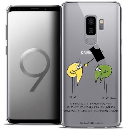 "Coque Gel Samsung Galaxy S9+ (6.2"") Extra Fine Les Shadoks® - A Force"