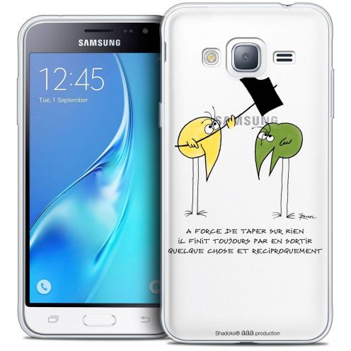 Coque Samsung Galaxy J3 2016 (J320) Extra Fine Les Shadoks® - A Force