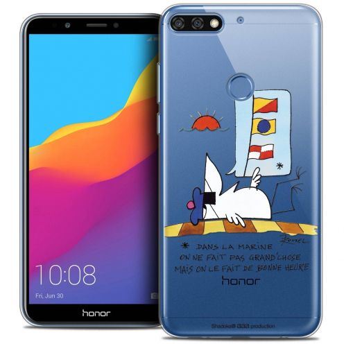 "Coque Gel Honor 7C (5.99"") Extra Fine Les Shadoks® - La Marine"