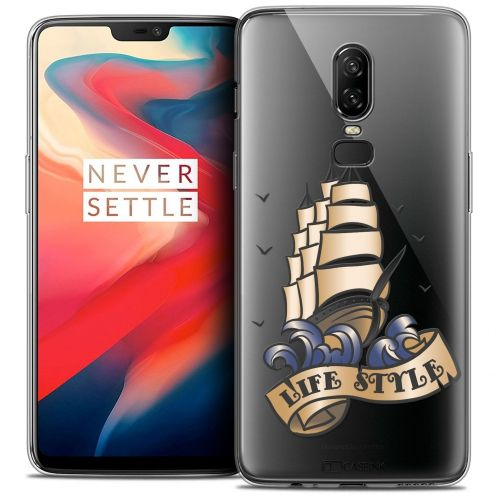 "Coque Crystal Gel OnePlus 6 (6.28"") Extra Fine Tatoo Lover - Life Style"