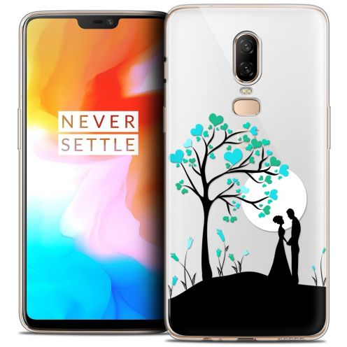 """Coque Crystal Gel OnePlus 6 (6.28"""") Extra Fine Love - Sous l'arbre"""