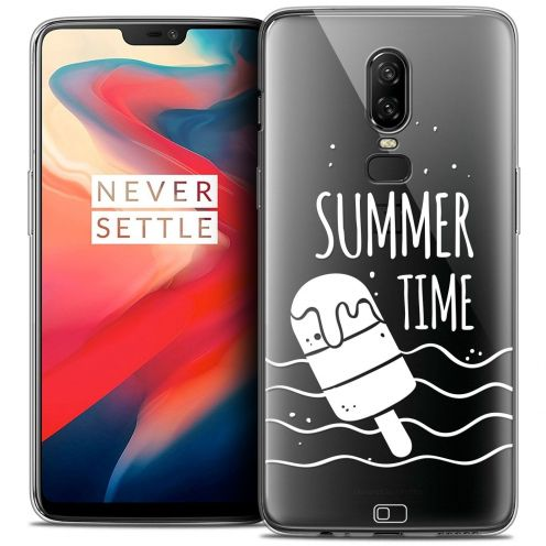 """Coque Crystal Gel OnePlus 6 (6.28"""") Extra Fine Summer - Summer Time"""