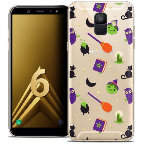 """Coque Crystal Gel Samsung Galaxy A6 2018 (5.45"""") Extra Fine Halloween - Witch Potter"""