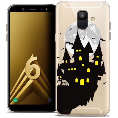 "Coque Crystal Gel Samsung Galaxy A6 2018 (5.45"") Extra Fine Halloween - Castle Dream"
