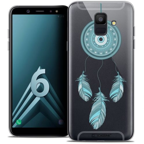 "Coque Crystal Gel Samsung Galaxy A6 2018 (5.45"") Extra Fine Dreamy - Attrape Rêves Blue"