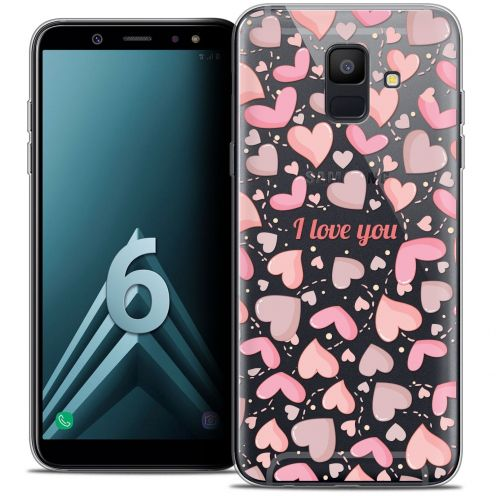 "Coque Crystal Gel Samsung Galaxy A6 2018 (5.45"") Extra Fine Love - I Love You"