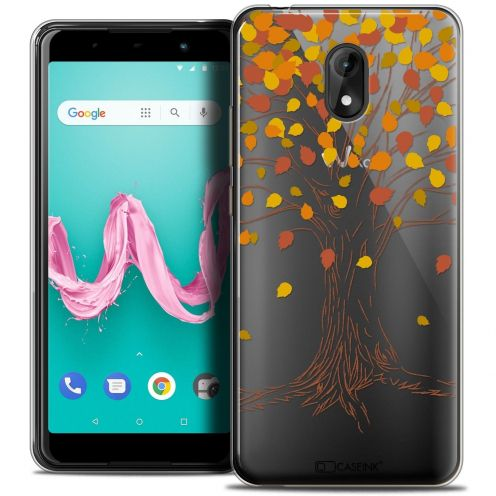 "Coque Crystal Gel Wiko Lenny 5 (5.7"") Extra Fine Autumn 16 - Tree"