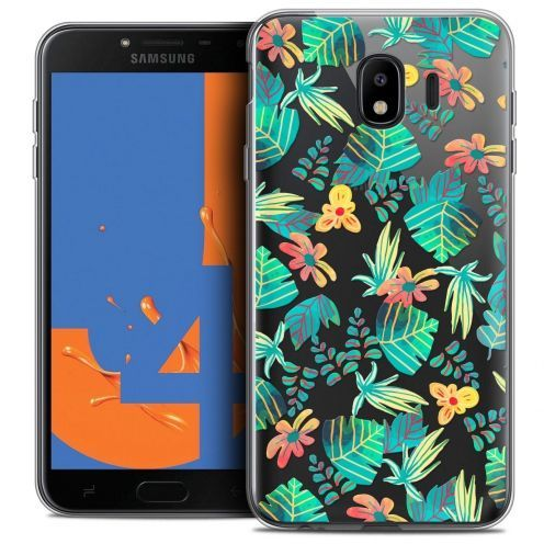 "Extra Slim Crystal Gel Samsung Galaxy J4 2018 J400 (5.5"") Case Spring Tropical"