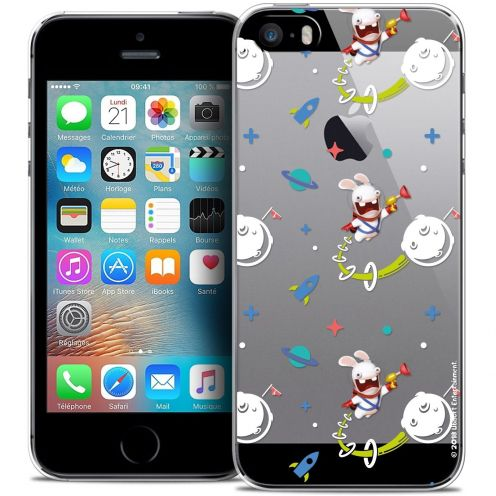 Coque iPhone 5/5s/SE Extra Fine Lapins Crétins™ - Space 2