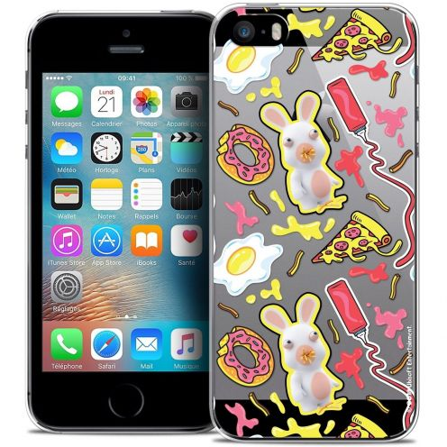 Coque iPhone 5/5s/SE Extra Fine Lapins Crétins™ - Egg Pattern