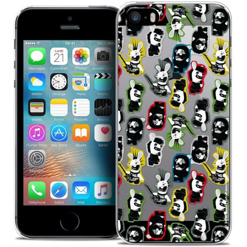 Crystal iPhone 5/5s/SE Case Lapins Crétins™ Punk Pattern