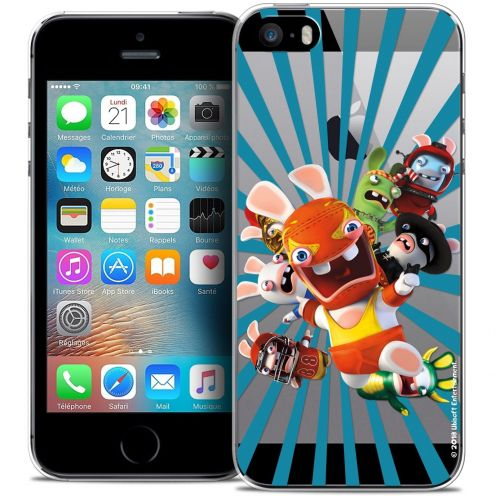 Coque iPhone 5/5s/SE Extra Fine Lapins Crétins™ - Super Heros