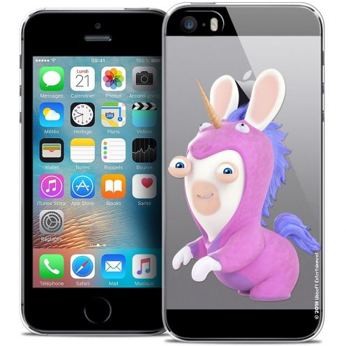 Coque iPhone 5/5s/SE Extra Fine Lapins Crétins™ - Licorne