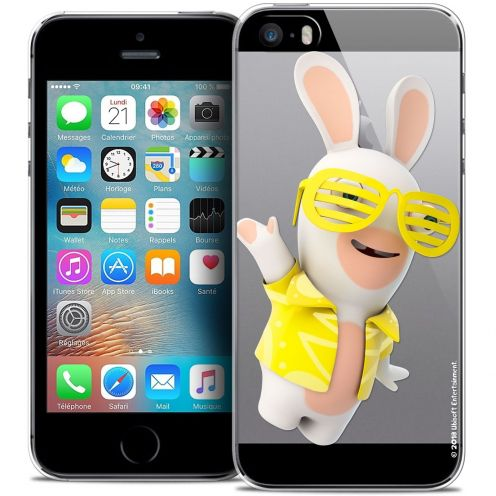 Coque iPhone 5/5s/SE Extra Fine Lapins Crétins™ - Sun Glassss!