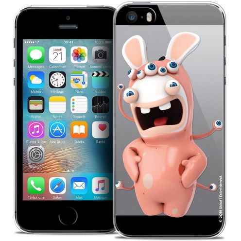 Coque iPhone 5/5s/SE Extra Fine Lapins Crétins™ - Extraterrestre