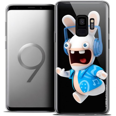 "Crystal Gel Samsung Galaxy S9 (5.8"") Case Lapins Crétins™ Techno Lapin"
