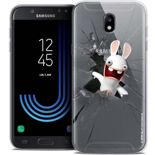"Coque Gel Samsung Galaxy J7 2017 J730 (5.5"") Extra Fine Lapins Crétins™ - Breaking Glass"