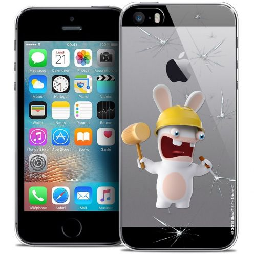 Coque iPhone 5/5s/SE Extra Fine Lapins Crétins™ - Breaker