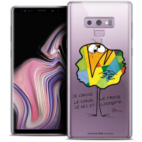 """Coque Gel Samsung Galaxy Note 9 (6.4"""") Extra Fine Les Shadoks® - Chaud ou Froid"""