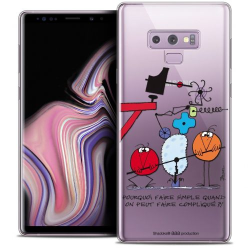"Coque Gel Samsung Galaxy Note 9 (6.4"") Extra Fine Les Shadoks® - Pourquoi faire Simple"