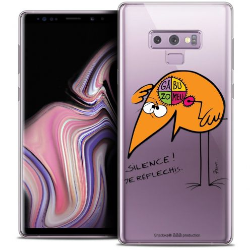 "Coque Gel Samsung Galaxy Note 9 (6.4"") Extra Fine Les Shadoks® - Silence !"