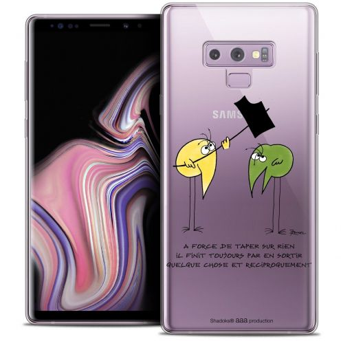 "Coque Gel Samsung Galaxy Note 9 (6.4"") Extra Fine Les Shadoks® - A Force"