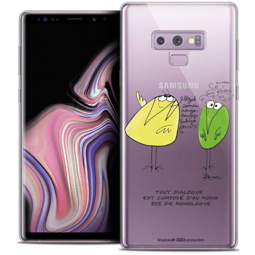 "Coque Gel Samsung Galaxy Note 9 (6.4"") Extra Fine Les Shadoks® - Le Dialogue"
