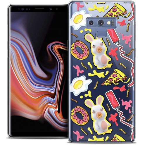 "Coque Gel Samsung Galaxy Note 9 (6.4"") Extra Fine Lapins Crétins™ - Egg Pattern"