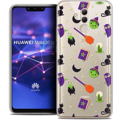 "Extra Slim Crystal Gel Huawei Mate 20 Lite (6.3"") Case Halloween Witch Potter"