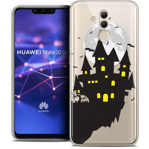 "Coque Crystal Gel Huawei Mate 20 Lite (6.3"") Extra Fine Halloween - Castle Dream"