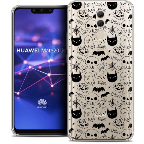 "Coque Crystal Gel Huawei Mate 20 Lite (6.3"") Extra Fine Halloween - Spooky"