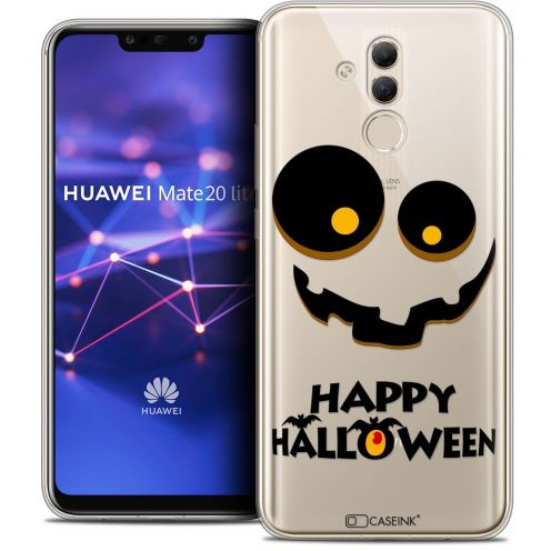 "Coque Crystal Gel Huawei Mate 20 Lite (6.3"") Extra Fine Halloween - Happy"