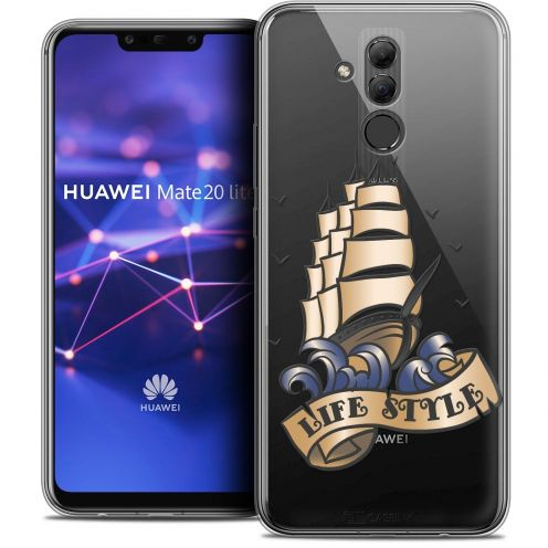 "Coque Crystal Gel Huawei Mate 20 Lite (6.3"") Extra Fine Tatoo Lover - Life Style"