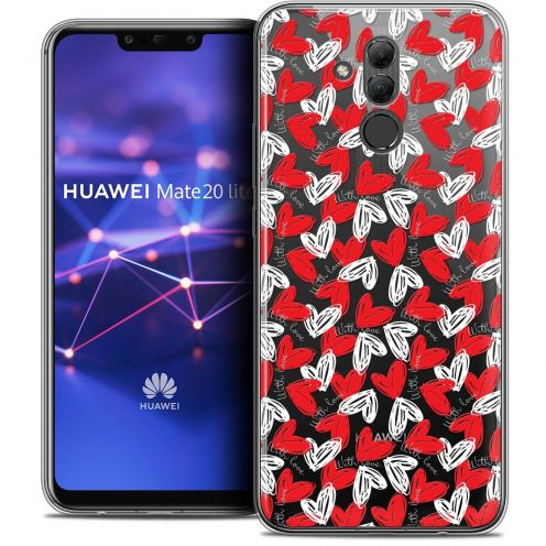 """Coque Crystal Gel Huawei Mate 20 Lite (6.3"""") Extra Fine Love - With Love"""
